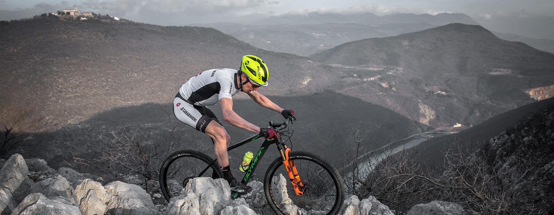 een nieuwe mountainbike